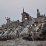 القوات العراقية تتقدم باتجاه قاعدة جوية جنوبي الموصل