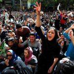 مظاهرات في إيران احتجاجا على ارتفاع الأسعار