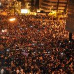 عشرات الآلاف من المغاربة يتظاهرون في الرباط ضد قرار ترامب