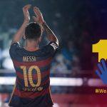 برشلونة يواجه انتقادات بعد إطلاق حملة لدعم «ميسي»