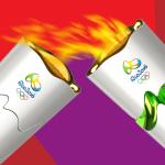 الشعلة الأولمبية تصل ولاية ريو مع قرب انطلاق دورة الألعاب