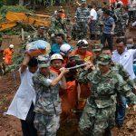 مقتل 50 وفقدان 12 في ثلاثة أيام من الأمطار الغزيرة بالصين