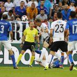 «يورو 2016».. إلغاء هدف وتبديل اضطراراي أبرز أحداث الشوط الأول بين ألمانيا وإيطاليا