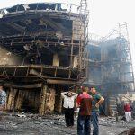 ارتفاع حصيلة تفجيرات بغداد إلى 213 قتيلا
