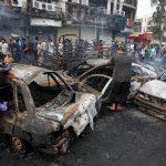 آلاف العراقيين يشاركون في تأبين ضحايا اعتداء الكرادة