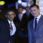 أوباما يصل إلى أسبانيا في زيارة رسمية
