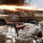 قوات الحكومة الليبية تقصف مواقع داعش في سرت ومقتل اثنين من عناصرها