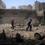 فيديو| المرصد السوري: 28 قتيلا مدنيا في قصف للمعارضة في حلب