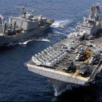 مسؤول أمريكي: سفينة حربية روسية قامت بمناورة «تفتقر للحرفية»