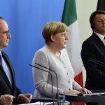 قمة فرنسية ألمانية إيطالية حول خروج بريطانيا من الاتحاد الأوروبي أغسطس المقبل