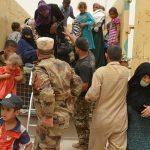 نزوح أكثر من 750 عراقي من المناطق التابعة لناحية القيارة
