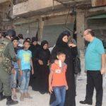خروج عشرات المدنيين من أحياء حلب المحاصرة