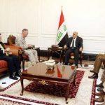 العبادي ورئيس الأركان الأمريكية يبحثان خطط تحرير الموصل