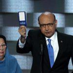 ترامب يرد على والد الجندي الأمريكي: منع زوجته من الحديث بسبب العادات الإسلامية