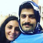 رجال إيران يرتدون الحجاب تضامنا مع النساء