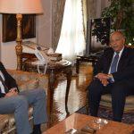 وزير الخارجية المصري والمبعوث الأممي يبحثان مستجدات الأوضاع الفلسطينية