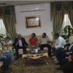 صور| أحمد حلمي في شرم الشيخ واستقبال رسمي من محافظ جنوب سيناء