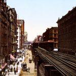 بالألوان لأول مرة.. صور المدن الأمريكية في أول القرن العشرين