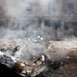 فيديو  أكثر من 30 قتيلا في تفجيرين انتحاريين بمدينة القامشلي السورية