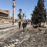 33 مصابا جراء إطلاق غاز سام قرب موقع سقوط المروحية الروسية في سوريا