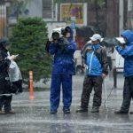 قتيل و60 مصابا جراء إعصار ميندولي في شمال اليابان