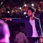 صور| أحمد جمال يتألق في حفل مهرجان محكى القلعة المصري
