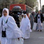 وصول أكثر من 287 ألف حاج إلى المدينة المنورة