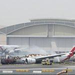 فيديو| اللحظات الأخيرة قبل هبوط طائرة الإمارات اضطراريا