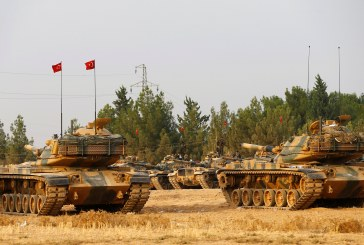 مقتل خمسة جنود أتراك في تفجير لـ«داعش» ببلدة الباب السورية