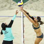 صور| أولمبياد ريو 2016 يظهر اختلاف الثقافات بين نساء الشرق والغرب
