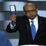 ترامب لوالد الضابط المسلم: هيلاري هي من صوت على الحرب ضد العراق وليس أنا
