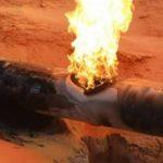 انفجار خط أنابيب غاز في إيران