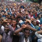 فيديو وصور| تظاهر نصف مليون إثيوبي للمطالبة بإقالة الحكومة