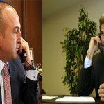 جاويش أوغلو وكيري يبحثان هاتفيا الأزمة السورية