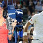 ديوكوفيتش وكيربر يواصلان التربع على عرش التنس