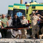 ارتفاع عدد قتلى غرق قارب مهاجرين غير شرعيين قبالة مصر إلى 148