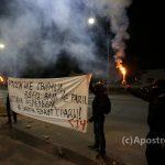 صور|محتجون يغلقون السفارة الروسية بكييف في يوم الانتخابات