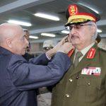 الخارجية الليبية: عقيلة يتفاوض حول مشاركة حفتر في حكومة موسعة
