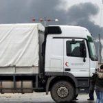 40 شاحنة مساعدات تنتظر على حدود تركيا إذن سوريا لدخول حلب