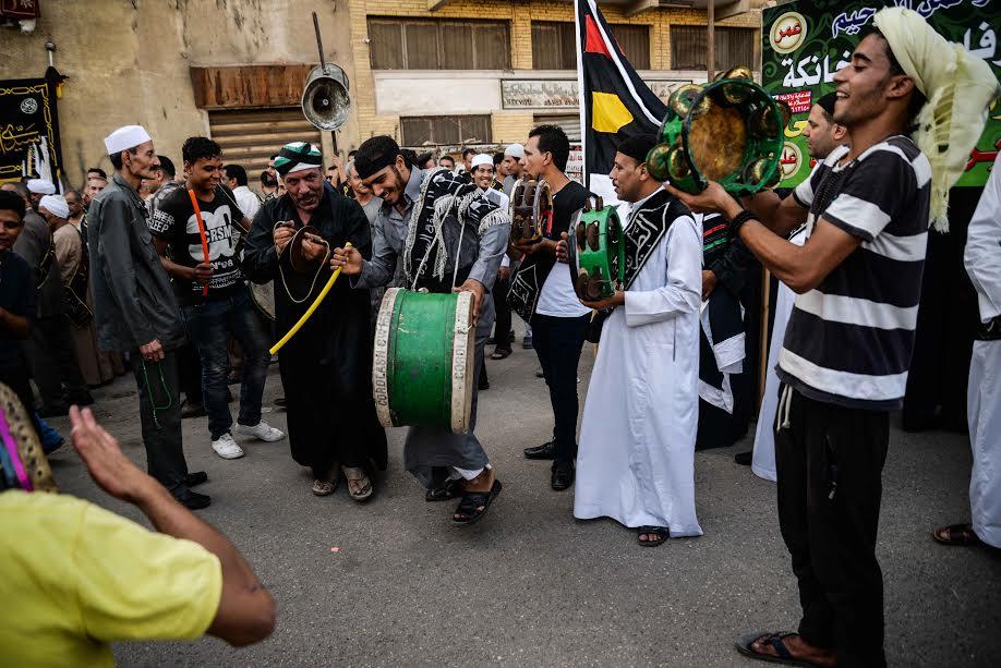 مسيرة الطرق الصوفية احتفالا بالعام الهجري الجديد