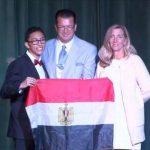 المصري عمر أبو بكر سفيرا للسلام في لوكسمبرج