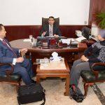صور| سفارة بغداد بالقاهرة تستقبل وفد «المجموعة العراقية الكندية» لبحث أحوال اللاجئين