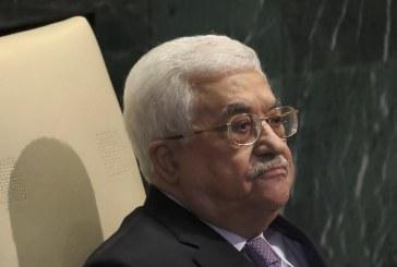 فيديو  عباس: نقل أي سفارة للقدس هو تدمير للحل السياسي