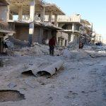 المرصد: غارات روسية كثيفة على شرق حلب بعد ساعات من إعلان الهدنة