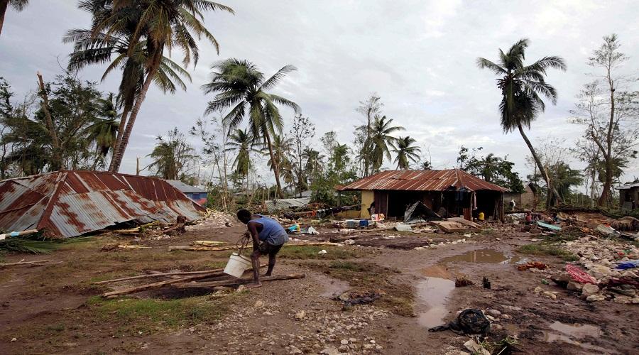 اعصار ماثيو في هاييتي-رويترز