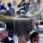 مواجهات بين الشرطة التركية ونشطاء في الذكرى السنوية لاعتداء أنقرة الدامي