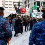 صور  تشديد الأمن في العراق مع تدفق ملايين الشيعة على كربلاء