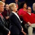 بدء المناظرة الرئاسية الثالثة والأخيرة بين كلينتون وترامب من دون مصافحة