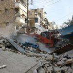 تواصل الغارات الروسية على حلب رغم وعود «الخروج الآمن»