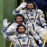 انطلاق فريق أمريكي روسي في طريقه إلى محطة الفضاء الدولية